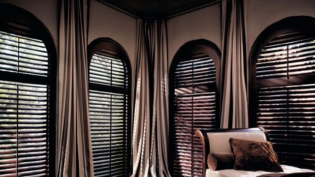 Heritance Hardwood Shutters, hunter douglas motorization
