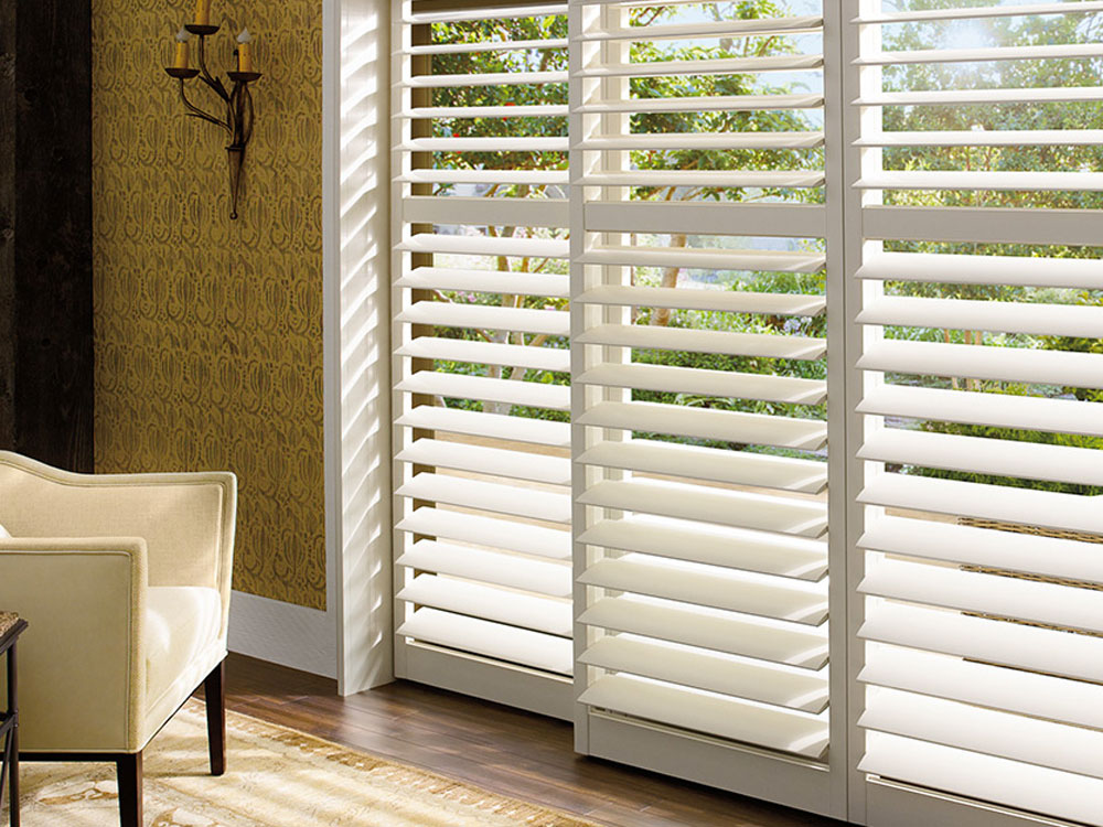 Palm Beach Vinyl Shutters Hunter Douglas Horizon Window Fashions