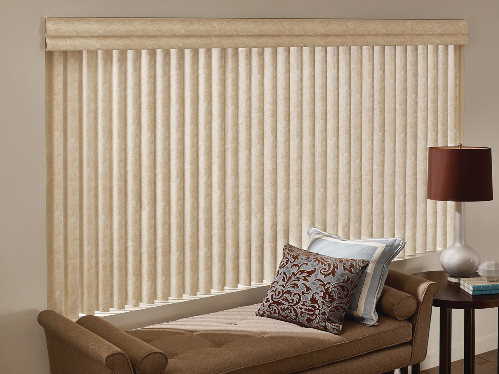 Custom Vertical Blinds Hunter Douglas Horizon Window