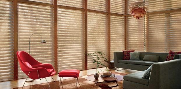 Silhoutte window shadings